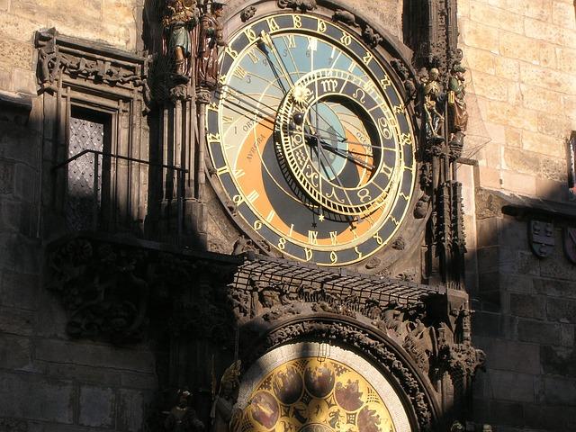 Orloj - pamiatky v prahe